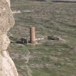19. A régi város romjai, egy minaret csonka maradványaival