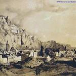 22. A szikla tövében álló óváros (forrás: www.ancientanatolia.com)