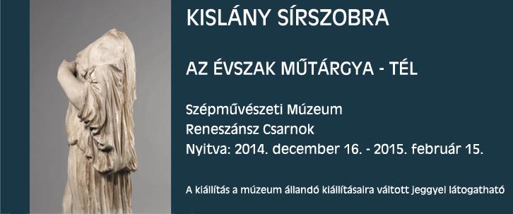 Az évszak műtárgya - 2014. tél